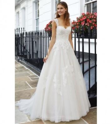 Φόρεμα φουσκωτό με μπούστο σε σχήμα καρδιάς